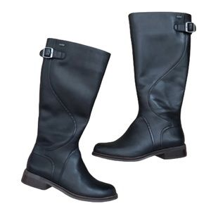 Clarks Goretex Leather Riding Boots Girls 3.5